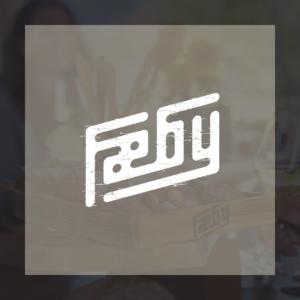 Fæby logo bakgrunn
